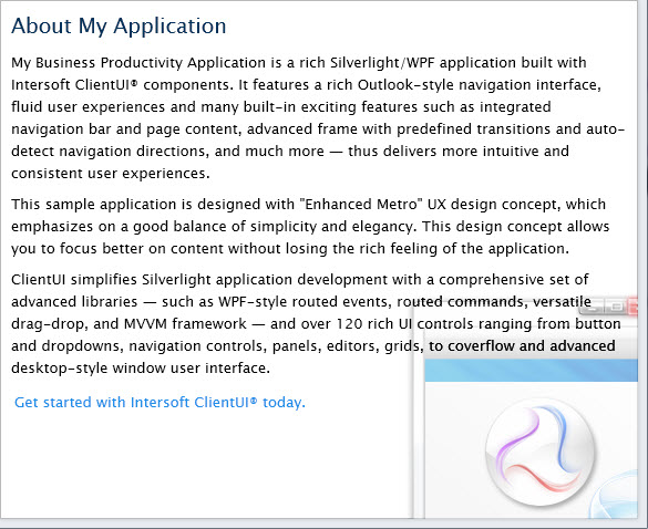 Walkthrough: Create New Intersoft ClientUI Outlook-style