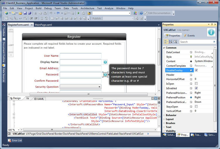 Samples Overview - Intersoft ClientUI - Intersoft Developer Center
