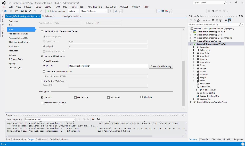 Configuring IISExpress for WebAPI Development - Intersoft Crosslight
